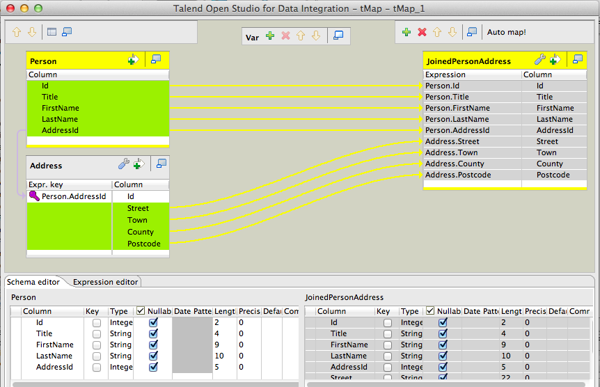 Talend By Example Tmap Joins Amp Filtering