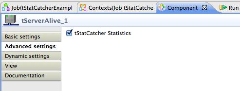 Talend by Example - tStatCatcher