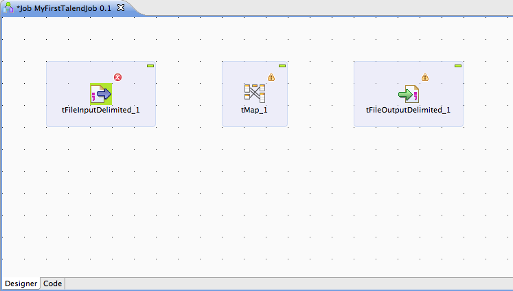 My First Talend Job Image 3