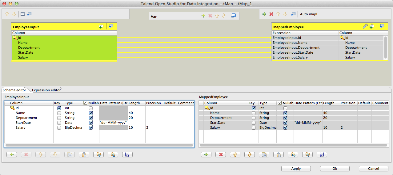 My First Talend Job Image 13