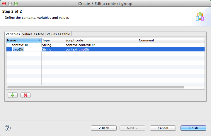 Talend Load Context Example Image 3