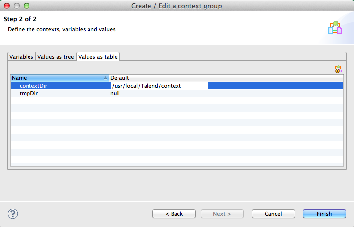 Talend Load Context Example Image 4